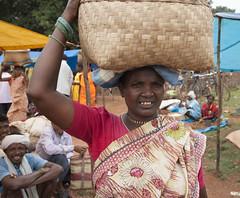 Market in Nangur (wietsej) Tags: india zeiss market sony 1635 chhattisgarh a900 bastar sal1635z nangur