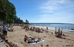 Third Beach In May (Clayton Perry Photoworks) Tags: people canada beach vancouver spring bc stanleypark sunbathing thirdbeach explorebc explorecanada