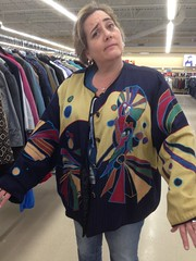 Kate models turkey coat (jessamyn) Tags: sister kate savers