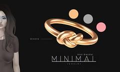 MINIMAL - Knot Bracelet (MINIMAL Store) Tags: necklace knot minimal tres chic