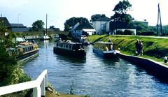 Slide 060-22 (Steve Guess) Tags: uk england museum canal lock pegasus derbyshire basin trent gb narrowboat mersey
