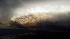 Supercell mammatus (nightsky76) Tags: cloud storm ominous aerial thunderstorm cumulonimbus mammatus supercell