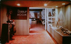 The Stirrup Room, Hotel Multnomah, Portland, Oregon (SwellMap) Tags: architecture vintage advertising restaurant design pc cafe 60s fifties postcard suburbia style diner kitsch retro truckstop nostalgia chrome americana 50s roadside cafeteria googie populuxe sixties babyboomer consumer coldwar snackbar eatery midcentury spaceage driveinrestaurant atomicage