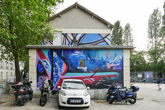 Romain Froquet -  Theo Lopez (Sbastien Casters (browse by artist)) Tags: romain froquet theo lopez paris france streetart street graffiti art urbain urbanexploration urban