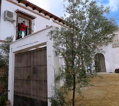 Escenario de la Recreacin histrica  Jos M El Tempranillo en Alameda (Mlaga) (lameato feliz) Tags: andaluca alameda tempranillo bandoleros recreacinhistrica