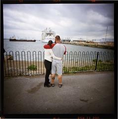 dreaming (fitzhughfella) Tags: 120film southamptonwater mayflowerpark lca120 harmonyoftheseas aggarsx200