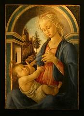 """""""La Vierge et l'Enfant"""" - Sandro Botticelli (Petit Palais - Avignon) (Lautergold) Tags: avignon botticelli laviergeetlenfant"""