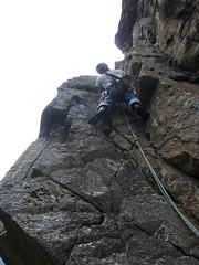 P7031939 (diegobracco) Tags: gianluca arrampicata bourcet multipitch urlodimunch