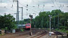Curved Rails 2 (cokbilmis-foto) Tags: station train germany ic track sony tracks rail rails nrw curve dusseldorf curved dsseldorf volkspark duesseldorf almanya rx100