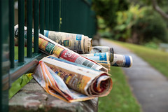 Wasted (OzzRod) Tags: street pentax bokeh newspapers suburbia waste k1 pentaxsingleinjuly2016 hdpentaxdfa2470mmf28