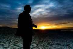 The Pro Tog (Daan Heijnen) Tags: seascape sunset silhouette camera nikon beach