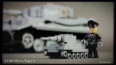 COBI Micro-Tiger :) (Kobikowski) Tags: lego tiger german micro cobi