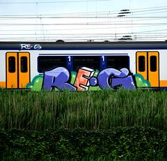 traingraffiti (wojofoto) Tags: holland amsterdam graffiti nederland netherland reg traingraffiti wolfgangjosten wojofoto treingraffiti