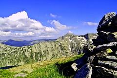 ,  (sevdelinkata) Tags: sky mountain lake landscape peak bulgaria rila clowds