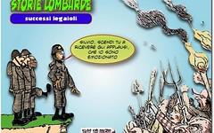 I terrificanti, sottospecie horror della politica italiana (SatiraItalia) Tags: humor vignette cartoons satira