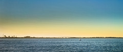 Newcastle (Bill Thoo) Tags: ocean sunset sea panorama water 35mm newcastle landscape harbour yacht sony australia nsw a7rii