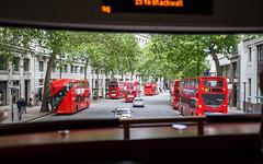 Imperial Buses (Sb's Place) Tags: voyage travel england urban bus rouge europe route espana repetition londres angleterre es nophotoshop rue voyages urbain couleurschaudes voyagefamilial sbmar wwwflickrcomsebmar 500pxcomsebmar