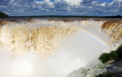 Panorama of Iguazu Falls (Garganta del Diablo) (Gregor  Samsa) Tags: trip vacation fall water argentina del river waterfall december devils january falls journey devil diablo exploration throat iguazu iguassu iguaz devilsthroat iguau garganta gargantadeldiablo iguazufalls iguaufalls iguassufalls iguazfalls iguazuriver