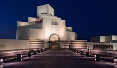 Museum of Islamic Art, Doha, Qatar (maxunterwegs) Tags: bluehour catar doha dusk impei ieohmingpei katar museum museumfrislamischekunst museumofislamicart musedartislamique nacht night noche noite nuit qatar