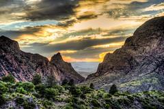 Chisos Basin sunset