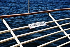 No Titanic King of the World! Milwaukee WI (Meridith112) Tags: summer lake signs silly water sign june wisconsin skull boat nikon midwest funny rail lakemichigan bow milwaukee bones railing titanic wi sillysign nonono crossbones funnysign kingoftheworld 2016 boattour nikon2485 notitanic nikond610 edelweissboattour standtothesides historicmilwaukeeboatcruise edelweissboat nokingoftheworld