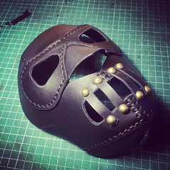 #Cyberpunk #CyberGoth #postapocalyptic #postapocalypse #steampunk #steampunkmask #leathermask #handmade #LARP #dieselpunk #leather #Darkart #costume #burningman #costume #respirator (tovlade) Tags: black girl face make up leather punk hand mask goth goggles made doctor cyber cybergoth cyberpunk plague larp steampunk postapocalyptic postapocalypse dieselpunk