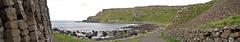 A panorama of the walk along Giant's Causeway in Ireland, UK (albatz) Tags: northernireland panorama walk giantscauseway ireland uk hexagonal basalt rockformations causeway