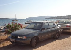 Daewoo Nexia 4d GLE (Fuego 81) Tags: daewoo nexia st836fn seget donji croatia
