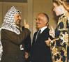 Yasser Arafat with King Hussain, 1985 (Doc Kazi) Tags: jordan hashemite kingdom monarchy hussein talal hassan sarvath noor lisa clinton hillary bill rabin leah mobarak yasser arafat hosni suha princes princesses nineties middle east peace oslo ii