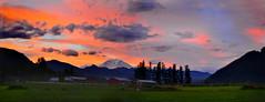 Mount Rainier Sunrise Panoramic (Robert Spears Photography) Tags: nps rainier pacificnorthwest