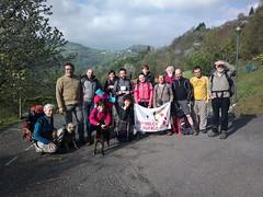 La partenza del secondo giorno dalla Valle delle Sorgenti