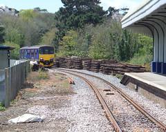 150104 Falmouth Docks (Marky7890) Tags: station train docks cornwall railway falmouth sprinter dmu fgw class150 150104 2t78