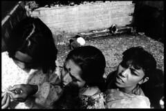 Dashain celebrants (chinese johnny) Tags: nepal blackandwhite film monochrome festival analog 35mm trix 35mmfilm kathmandu kathmanduvalley bwfilm blackandwhitefilm dasain scannednegatives dakshinkali flickrunitedaward artisawoman