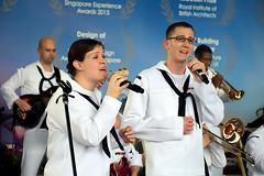 Musical Performance (chooyutshing) Tags: singapore marinabay musicalperformance baysouth gardensbythebay seventhfleetband unitedstates7thfleetband