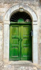 green door (poludziber1) Tags: door travel summer urban italy color green italia doors colorfull south basilicata matera sud 15challengeswinner