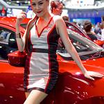 Sexy presenter for Mazda at the 36th Bangkok International Motor Show thumbnail