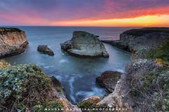 Shark Fin Cove Overlook (hazarika) Tags: california sunset santacruz davenport canon1635mmf28liiusm sharkfincove canon5dmarkiii singhray3stopreversegnd mausamhazarikaphotography