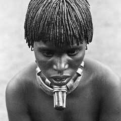 Kecha Mayla from the Hamer tribe, Logara, Turmi, Omo Valley, Ethiopia