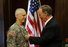 04-06-2015 Pinning Ceremony for Major General Allen Harrell