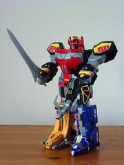 Megazord 大獣神 (Dragon Chan2009) Tags: power dino super mighty rangers 2010 sentai morphin megazord kyoryu zyuranger dinozord daizyujin