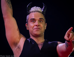 Robbie Williams - Bratislava (sxdlxs) Tags: light portrait blackandwhite music white black color colour colors lights concert colorful colours williams live gig portrt robbie lightshow concertphotography bratislava robbiewilliams rw liveshow musicphotographer musicphotography gigphotography letmeentertainyou concertphotographer robbielive gigphotographer lmey slovnaftarena lmeytour