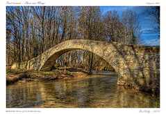 Pont romain (BerColly) Tags: bridge trees sky france water river google eau flickr riviere ciel arbres pont romain hdr auvergne puydedome bercolly cheixsurmorge
