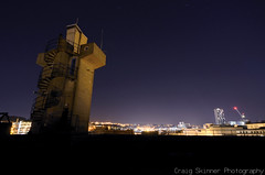 Castle Market, Sheffield - April '15 (Craig Skinner - www.craigskinnerphotography.co.uk) Tags: city uk longexposure roof england building castle abandoned rooftop night stairs spiral concrete climb nikon cityscape lift market crane sheffield yorkshire stpauls explore nighttime urbanexploration trespass monolith derelict citycentre height shaft brutalist ue southyorkshire urbex derp rooftopping d7000