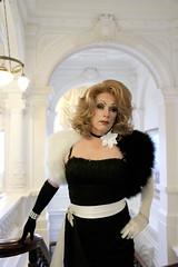 Luxury (Gloria Vulcano) Tags: sexy drag model theater transgender transvestite makeover dragqueen diva travestie travestiet