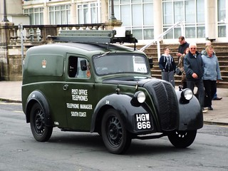 A15 - HGW 866 - 1946  Morris Z type Post Office Telephones 'GPO' Van