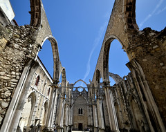 Convento do Carmo - Open air - Lisboa (G.hostbuster (Gigi)) Tags: open perspective convento lisbona ghostbuster gigi49