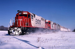 Last of the Lost Boxes (ac1756) Tags: winter lake snow cold michigan trout sooline soo 909 744 emd sd40