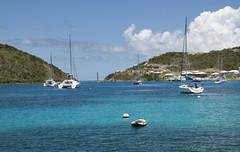 Caribbean Harbor (Alida's Photos) Tags: clouds island sailing tropical caribbean bvi britishvirginislands buoyant