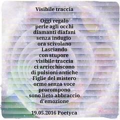Visibile traccia (Poetyca) Tags: image e poesia poesie featured immagini sfumature poetiche
