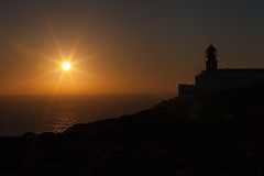 Sunset (Massimo M0R3TT1) Tags: portugal lighthouse sunset f32 ocean cabodesaovicente